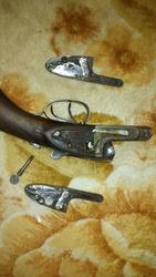 Штучное двухствольное ружье В.М.Тетеркина