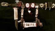 Продам традиционный нож народа Ханты с ножнами и ремнем